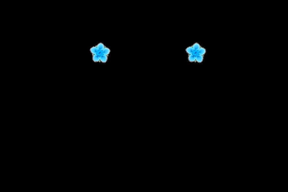 petite-fimo-papaye-bleu