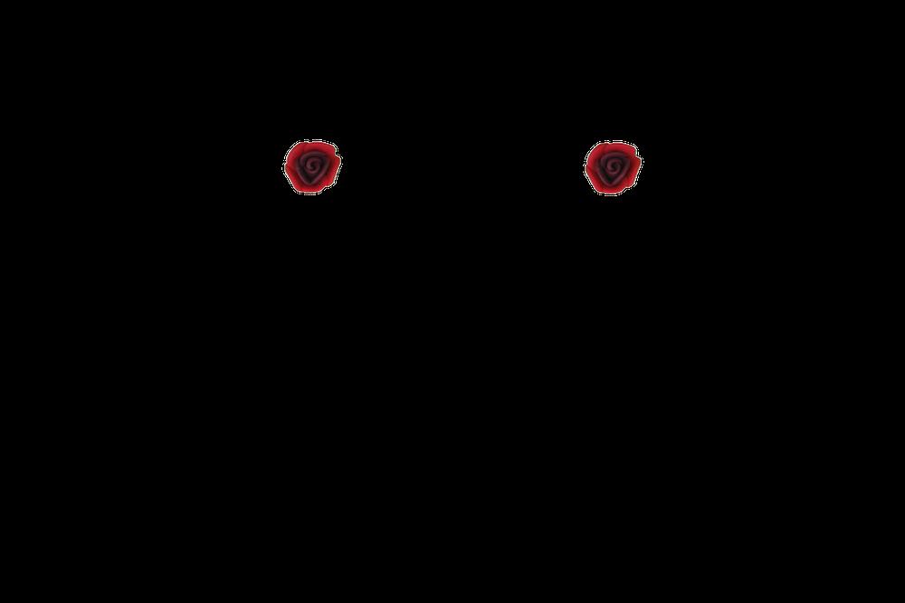 petite-fimo-rose-mini-bordeaux