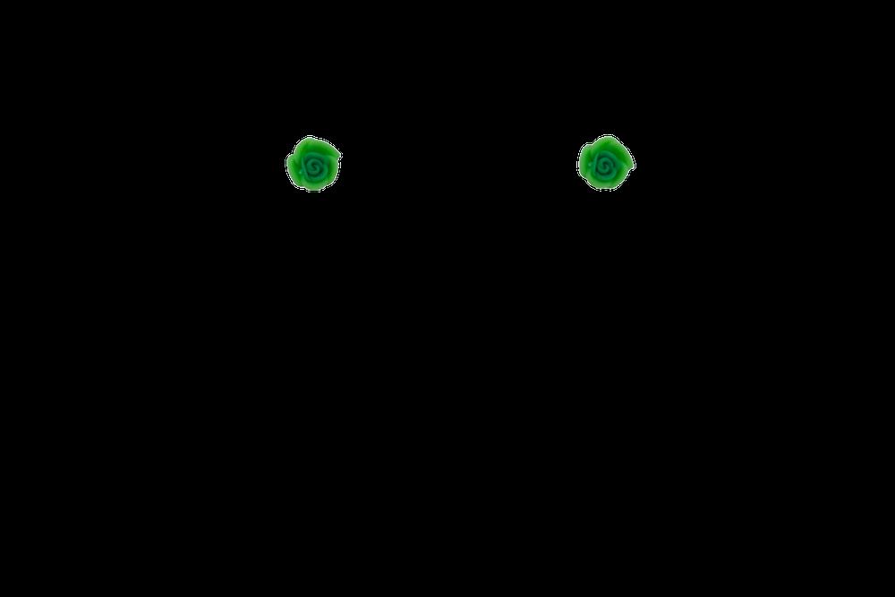 petite-fimo-rose-mini-vert