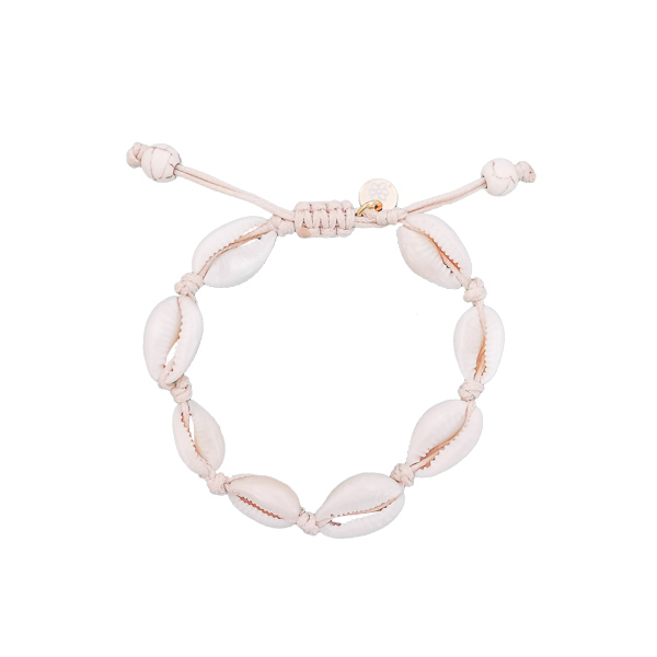 bracelets coquillages blanc