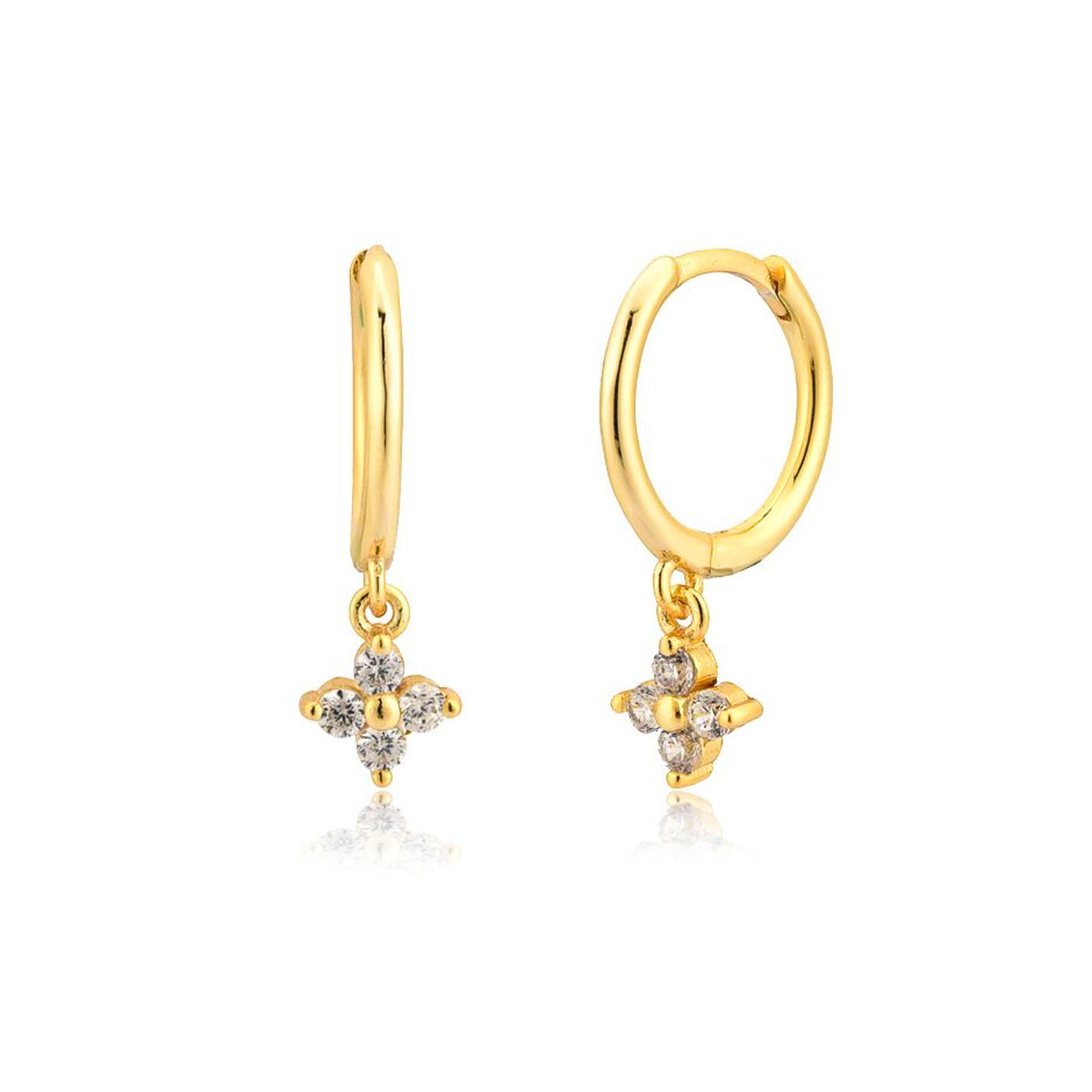 boucles d'oreilles alix gold