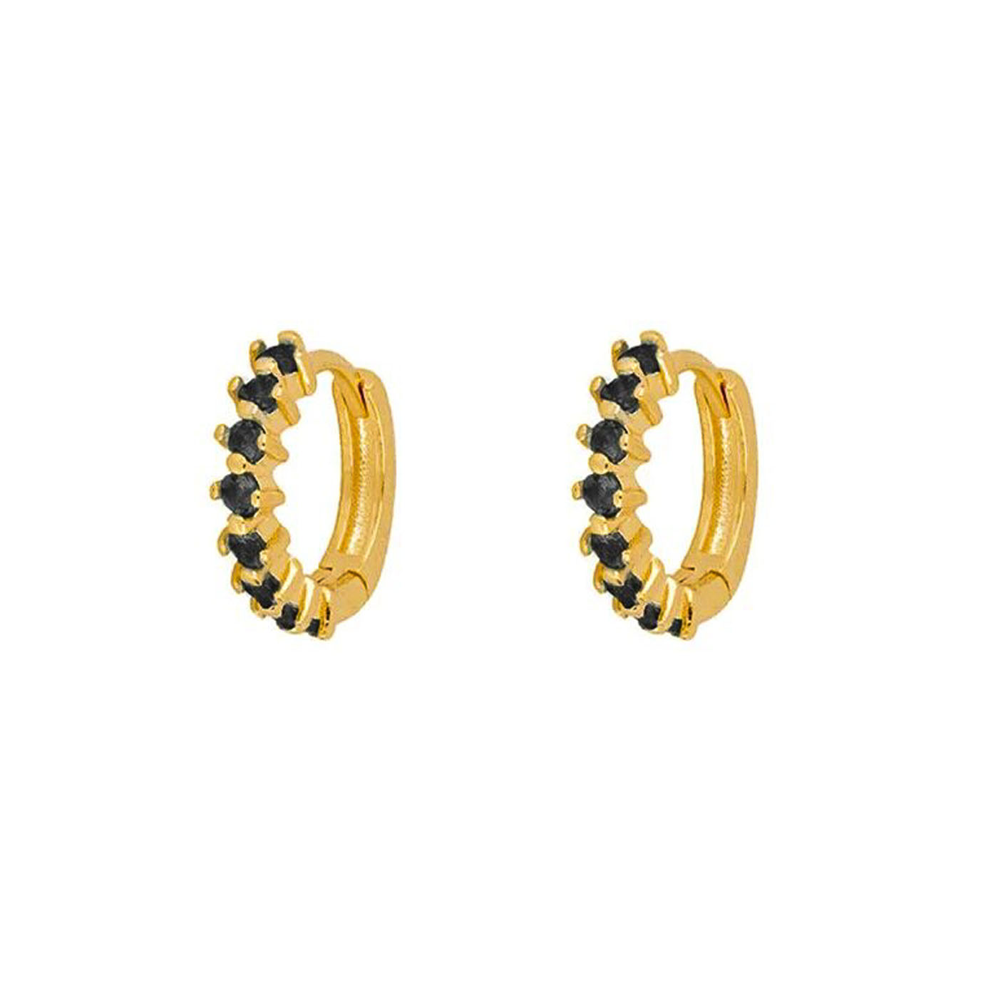 boucles d'oreilles anneaux gold