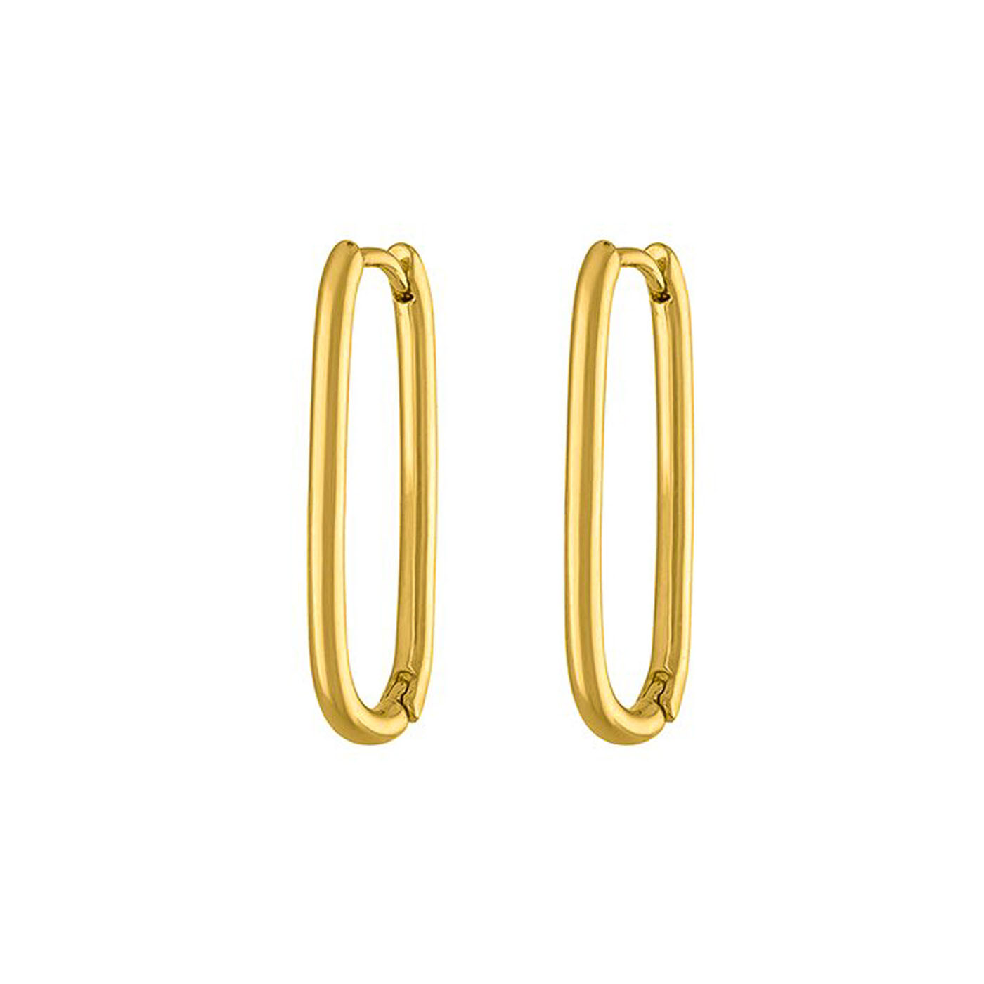 boucles d'oreilles épingle gold