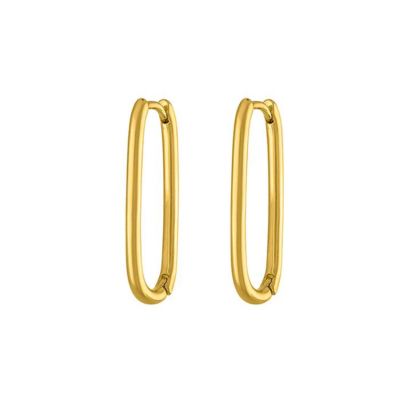 boucles d'oreilles épingle gold