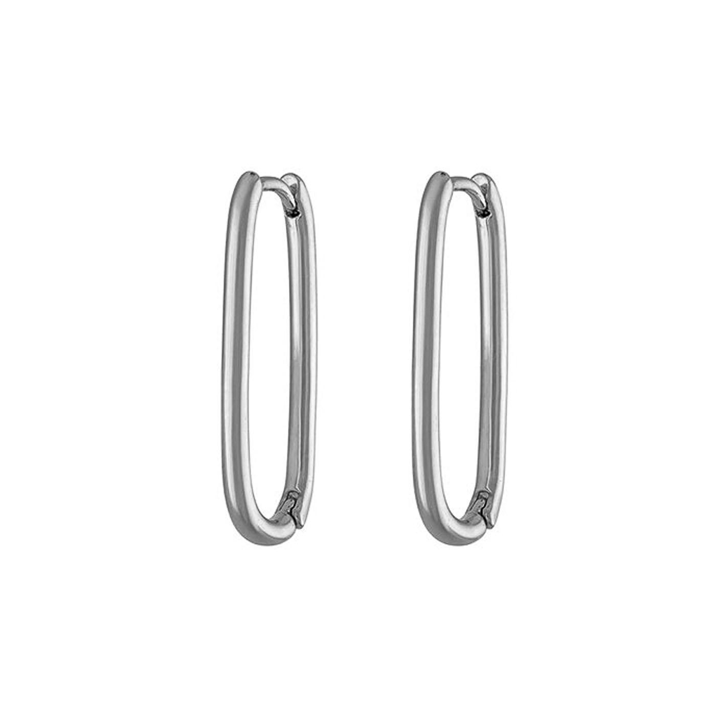 boucles d'oreilles épingle silver