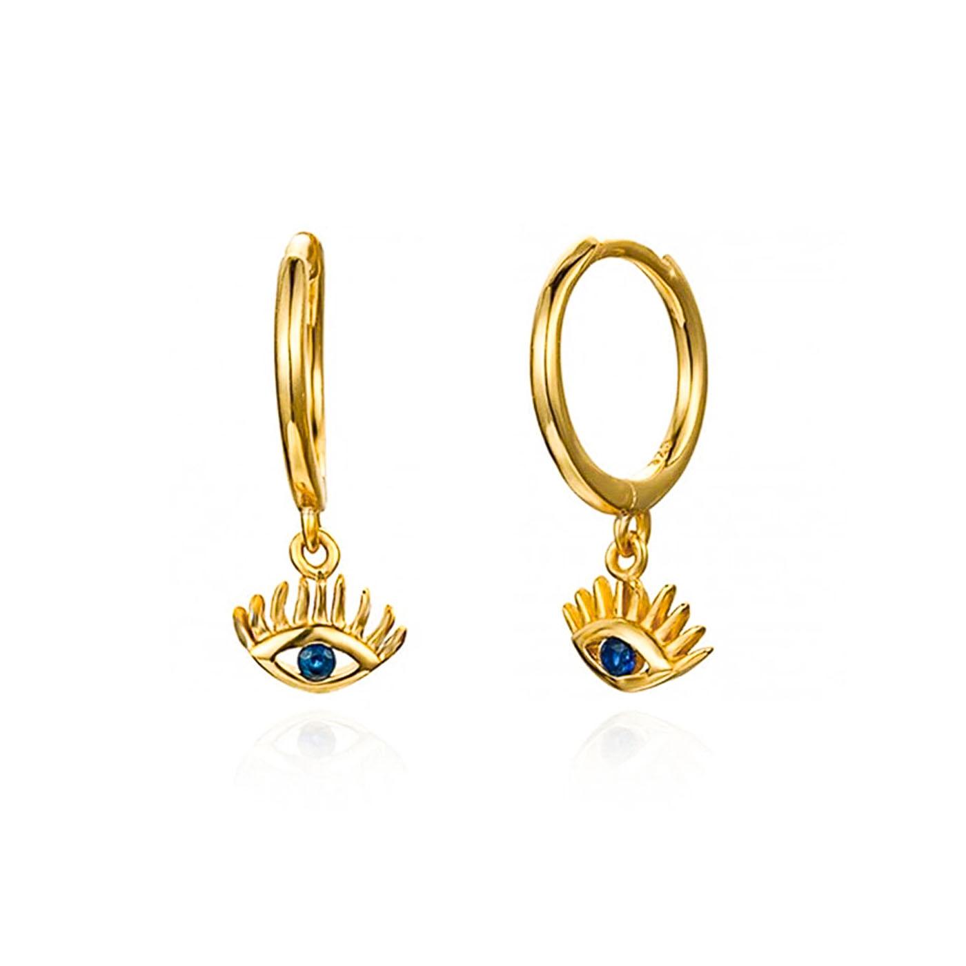 boucles d'oreilles louna gold