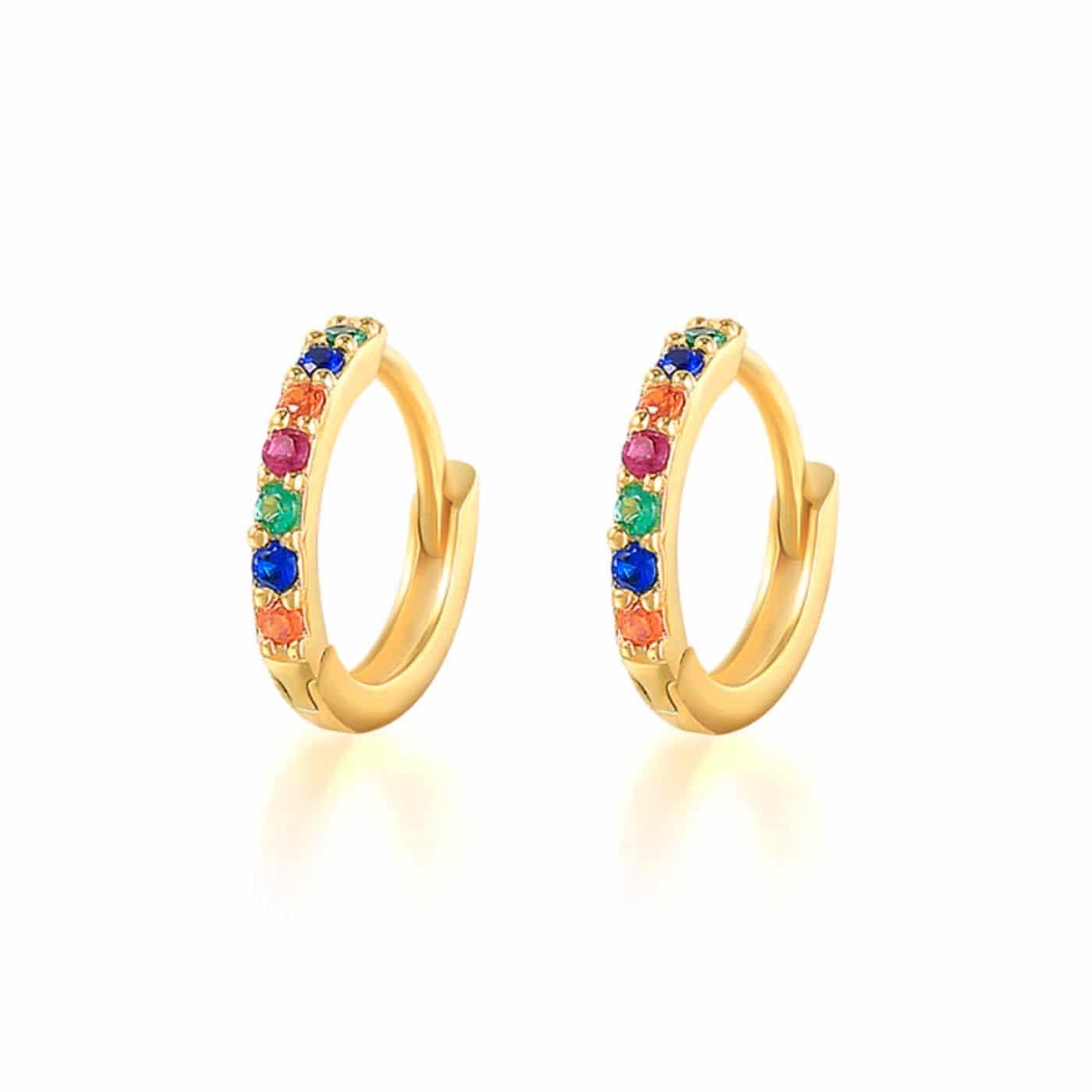 boucles d'oreilles Marianne gold